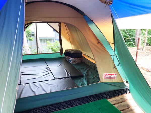 寝室テント