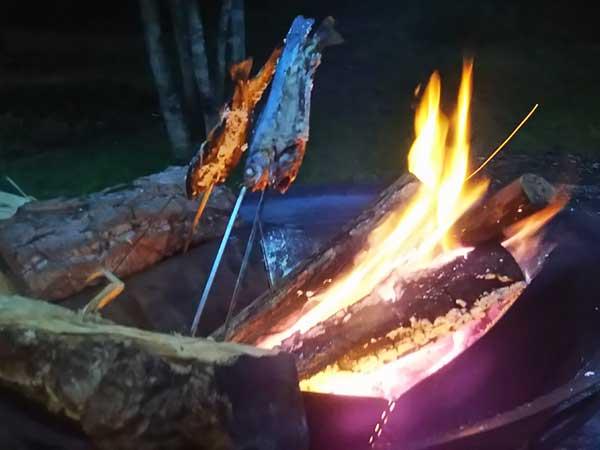 木製小屋づくりの『アウトドアリビング』4