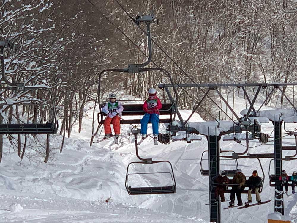 2021-2022冬休みジュニアスキー合宿8