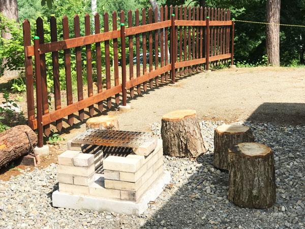 木製小屋づくりの『アウトドアリビング』3