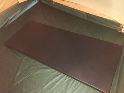 寝室テント内付属品