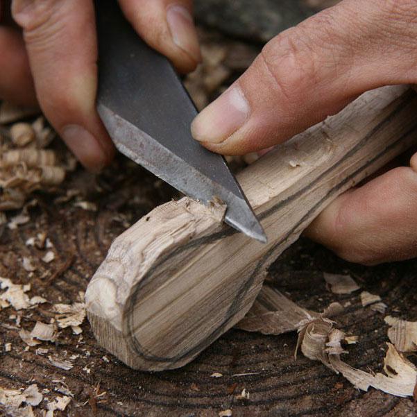 木のカトラリー作り体験2