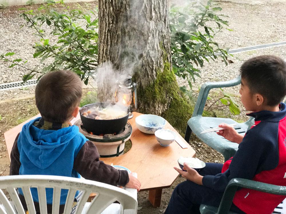 キャンプで『鍋』プラン