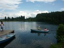 希望湖ボート